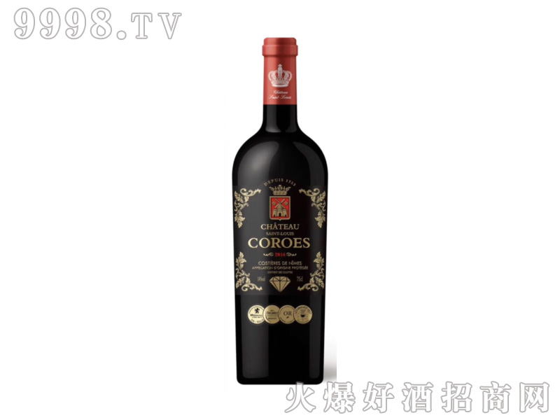 卡图磨坊干红葡萄酒(黑钻)